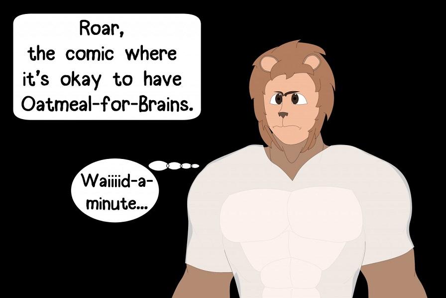 Michael Roar Oatmeal for Brains