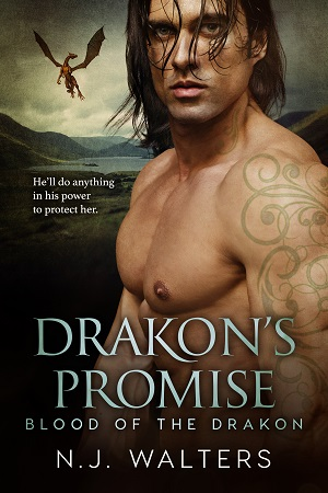 Drakon's Promise, by N. J. Walters