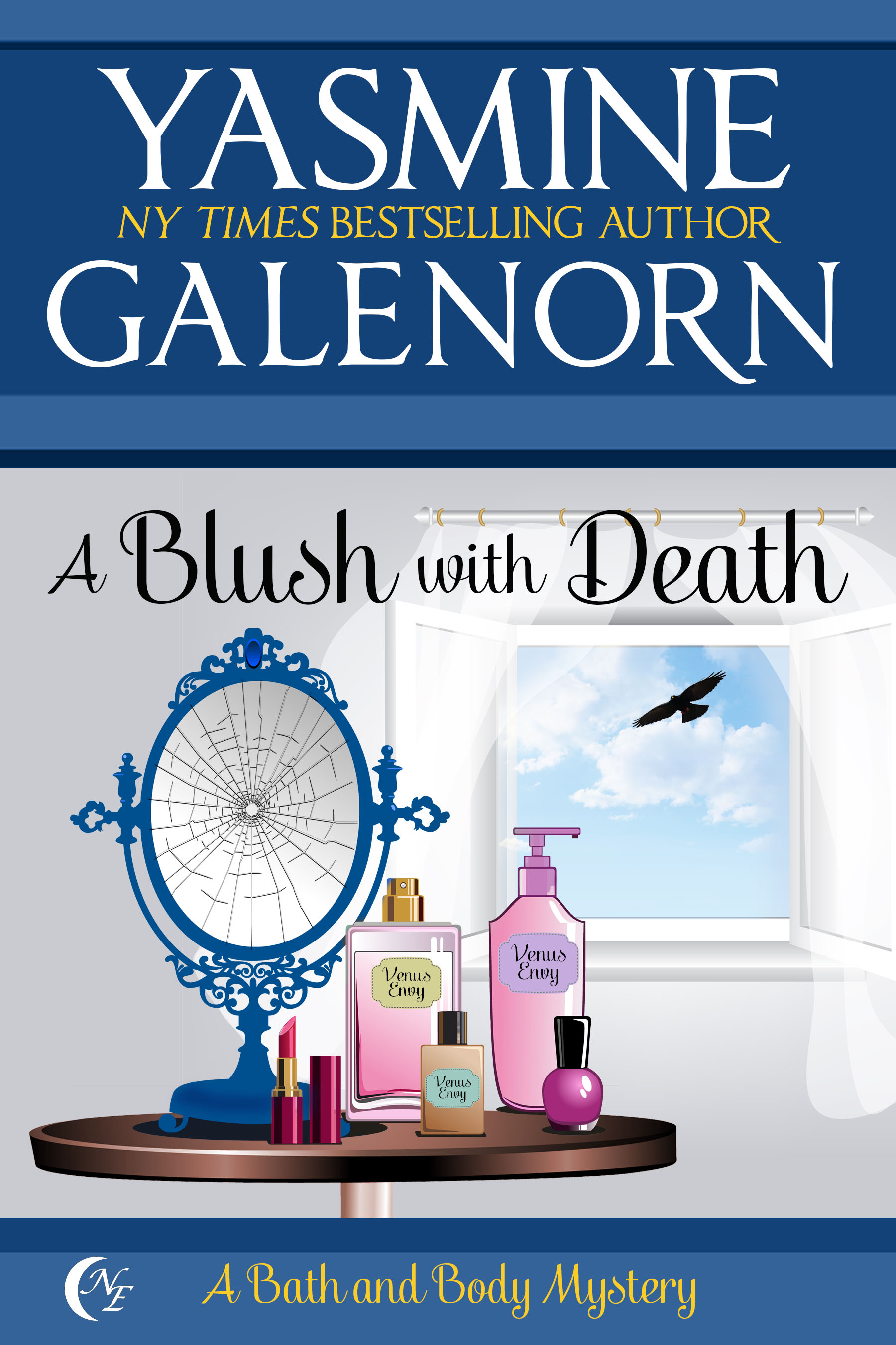 a BLUSH WITH DEATH COVER