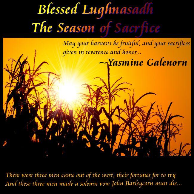 Blessed Lughnasadh!