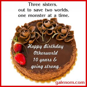 Otherworld birthday cake