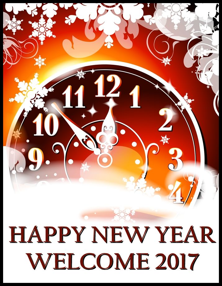 Happy New Year! Welcome 2017