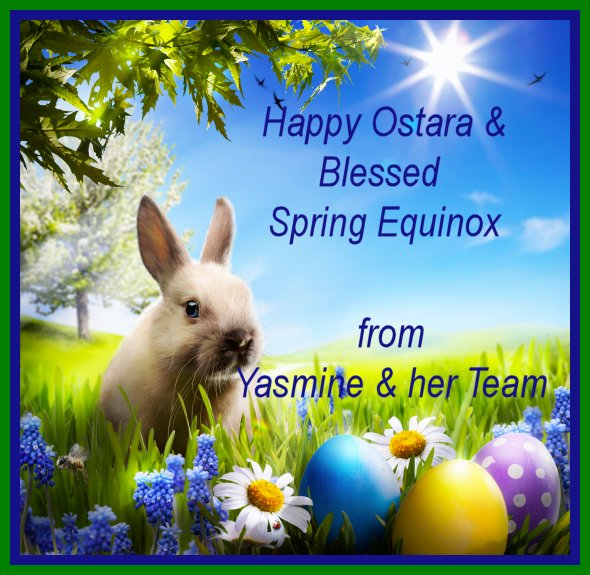 Happy Ostara and Blessed Spring Equinox