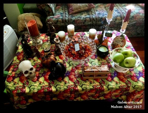Mabon Altar 2017