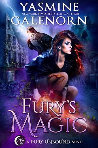 Backlist Blitz Excerpt: Fury's Magic
