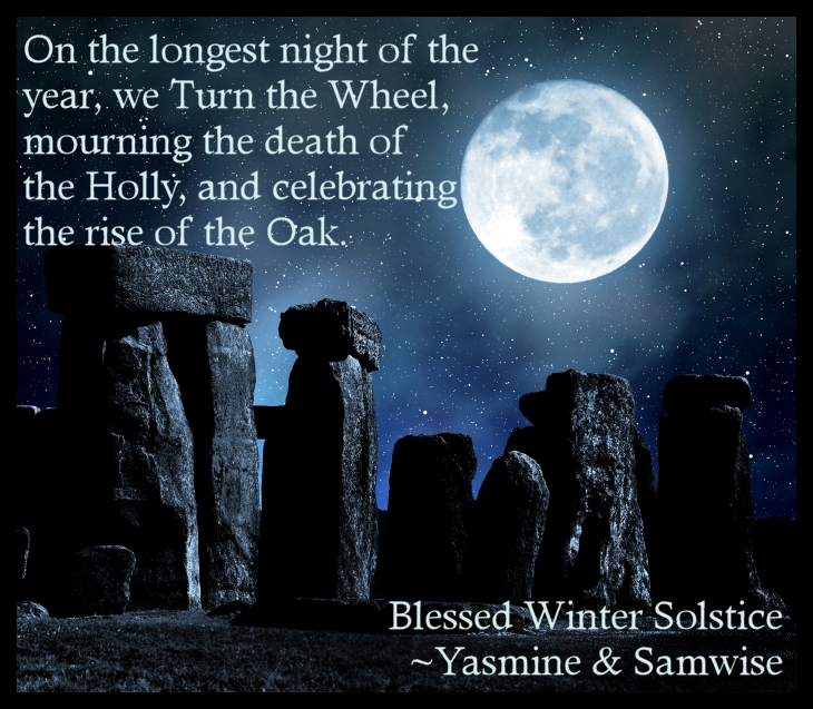 Blessed Winter Solstice