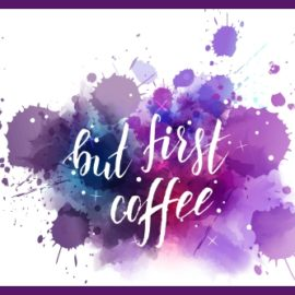 But First, Coffee: Memorial Day, & Upcoming Books