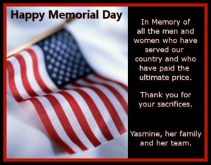 Blessings on Memorial Day