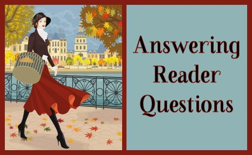 Answering Reader Questions