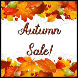Autumn Sale!