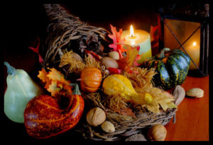 cornucopia by the fire