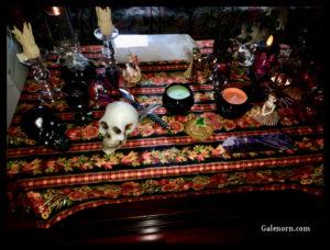 Samhain Altar.