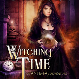 Cover Reveal for WITCHING TIME