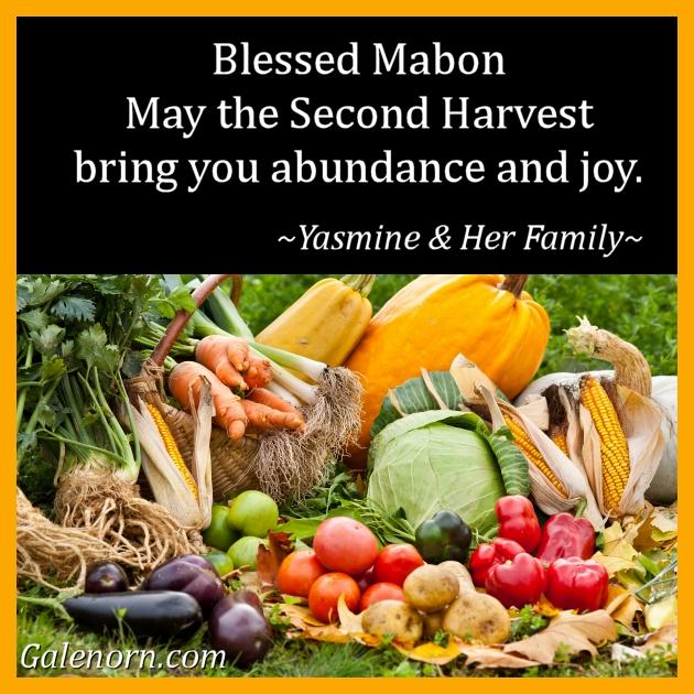 Blessed Mabon