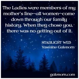 Blogmas: Starlight Web–Ancestors