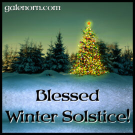 Blessed Yule!