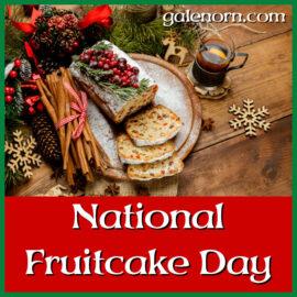 Blogmas: National Fruitcake Day