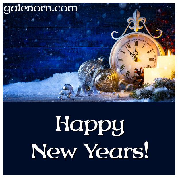 Clock--almost midnight