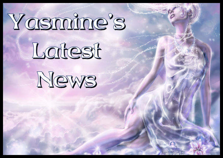 Find out what Yasmine's Latest news on her blog is.