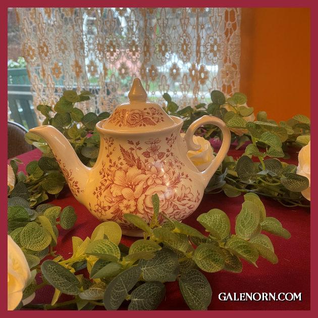 Spode Toile Teapot