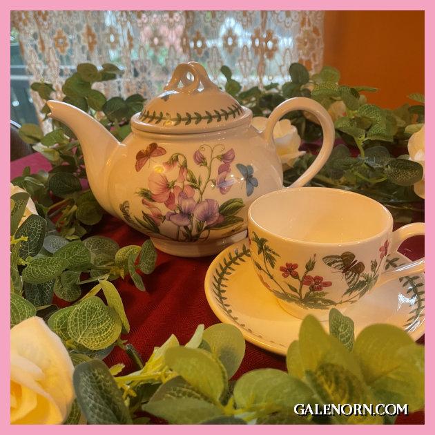 Botanical Teapot