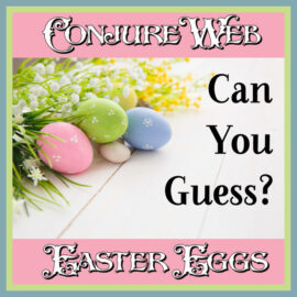 Conjure Web Easter Eggs & Contest