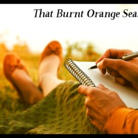 Writing Under the Autumn Sun